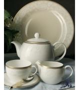 Чайный сервиз «Золотая вышивка»