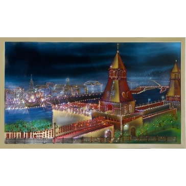 Картина Сваровски «Старая Москва»