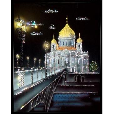 Картина Сваровски «Храм Христа Спасителя»