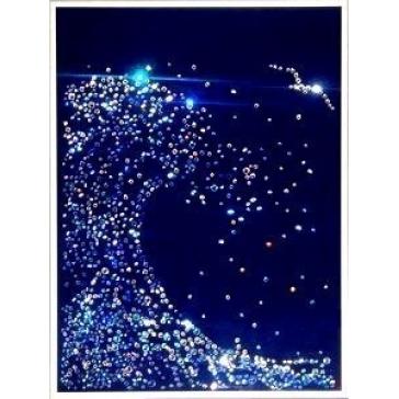 Картина с кристаллами Сваровски «Волна малая»