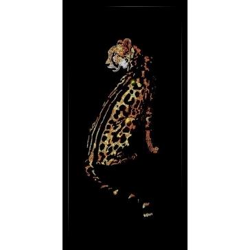 Картина со стразами Сваровски «Гепард»