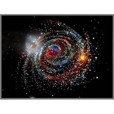 Картина Сваровски «Галактика»