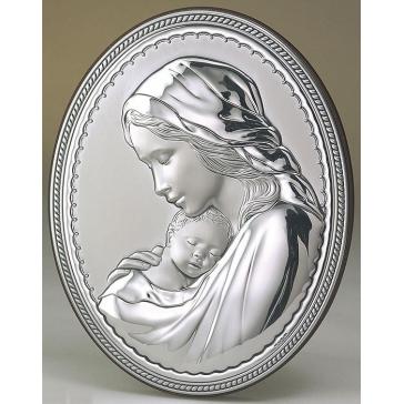 Миниатюрное панно «Мадонна с младенцем»