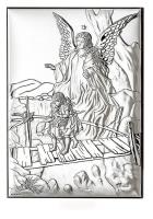Подарочное панно «Ангел Хранитель»