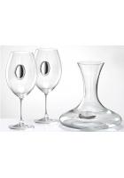 Набор для вина из 2-х бокалов и декантера