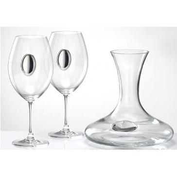 Набор из бокалов и декантера для вина