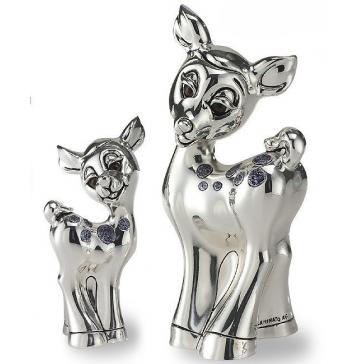 Серебренный сувенир «Олененок»