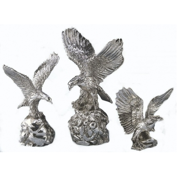 Посеребренная фигурка «Орел»