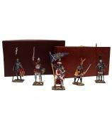 Оловянные миниатюрные фигурки «Рыцари»