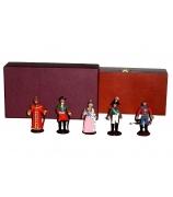 Оловянные миниатюрные фигурки «Русские цари»