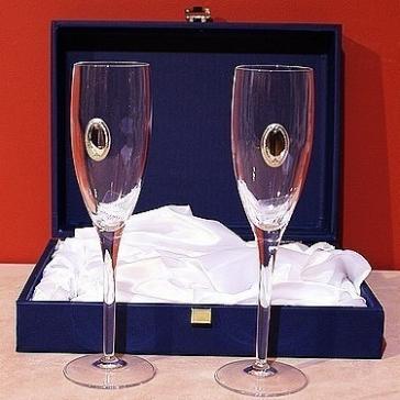 Набор из 2-х фужеров для шампанского «Lux»