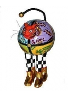 Набор из 2-х статуэток кошек «Норма и Джин»