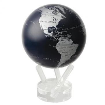 Глобус настольный самовращающийся с политической картой Мира