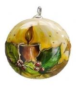 Елочный шар «Новогодняя свеча»
