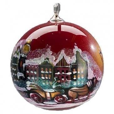 Елочный шар «Красный городок»