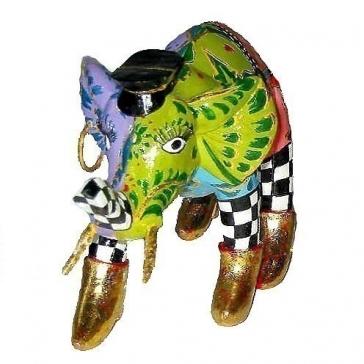 Набор из 2-х статуэткок слоников «Алекс и Брюс»