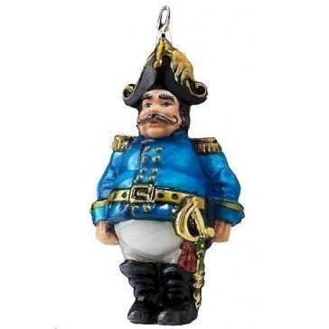 Елочная игрушка «Жандарм в синем мундире»