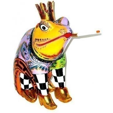 Статуэтка лягушка «Маленький принц» от Томаса Хоффмана, Германия.