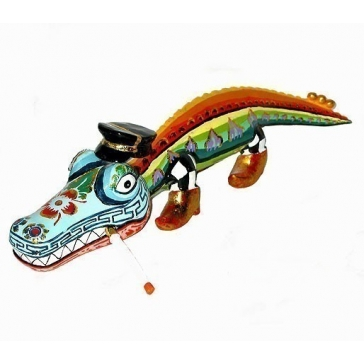 Статуэтка крокодил «Элли»