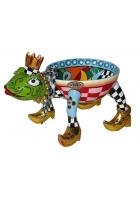Шкатулка-вазон «Лягушка»