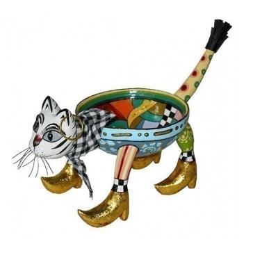 Шкатулка-вазон «Кот»