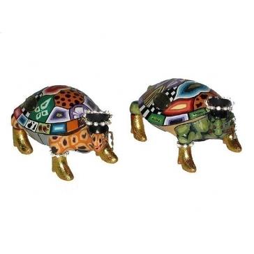 Набор из 2-х статуэток черепахи-близнецы «Маленькие Элтоны»
