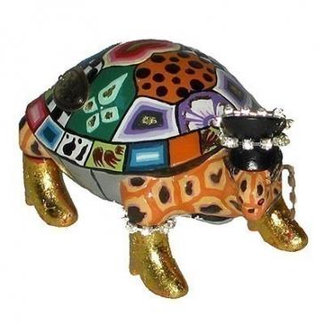 Набор из 2-х статуэток черепахи-близнецы «Большие Элтоны»