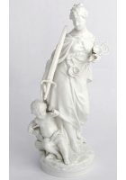 Фарфоровая статуэтка «Фемида»