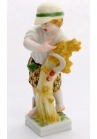 Фарфоровая статуэтка «Знак зодиака-Дева»