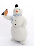Фарфоровая статуэтка «Снеговик»