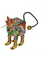 Шкатулка-кошка