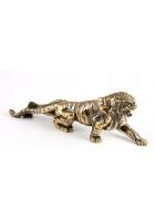 Бронзовая статуэтка «Тигр идет на охоту»
