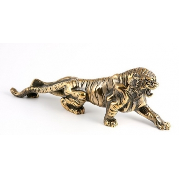 Статуэтка из бронзы «Тигр идет на охоту»