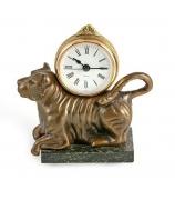 Бронзовые часы «Тигр»