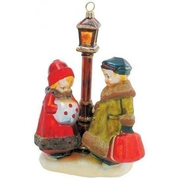 Стеклянная елочная игрушка «В парке», Komozja и Mostowski