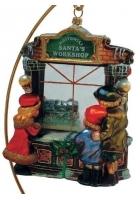 Елочная игрушка «Рождественская витрина»