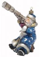 Елочная игрушка «Дед Мороз Звездочет»