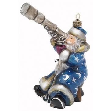 Елочная игрушка «Санта-звездочет»