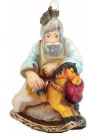 Елочная игрушка «Мастер с лошадкой»