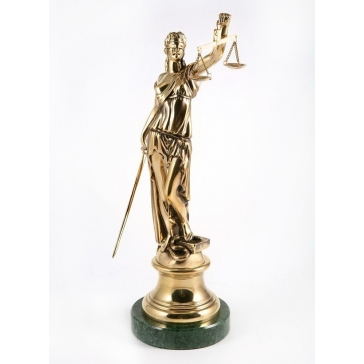 Статуэтка из бронзы «Фемида»