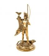 Бронзовая статуэтка «Рыбачок»