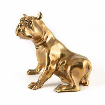 Статуэтка из бронзы «Бульдог»