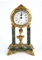 Бронзовые часы «Дама»