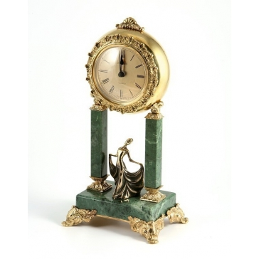 Часы из бронзы «Балерина»