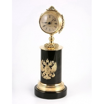 Часы из бронзы «Держава»