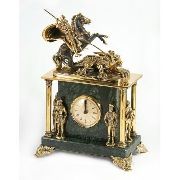Часы из бронзы «Слава русскому оружию»