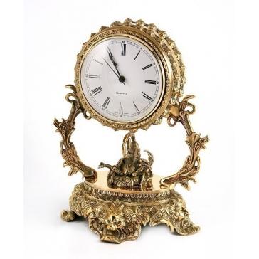Часы из бронзы «Галактика - Скорпион»
