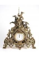 Бронзовые часы «Всадница»