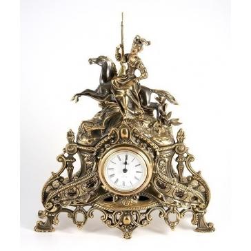 Часы из бронзы «Всадница»