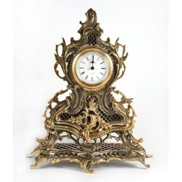 Каминные часы из бронзы «Классика»